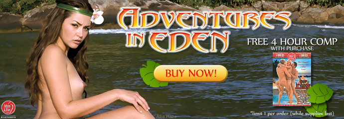 Adventures in Eden DVD Image
